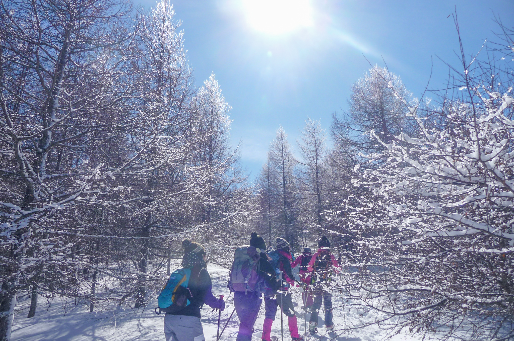 鈴木みきさんと行く『山っていい友!』~マナスル山荘に泊まる~ 入笠山スノーシュ・ハイキング 2日間