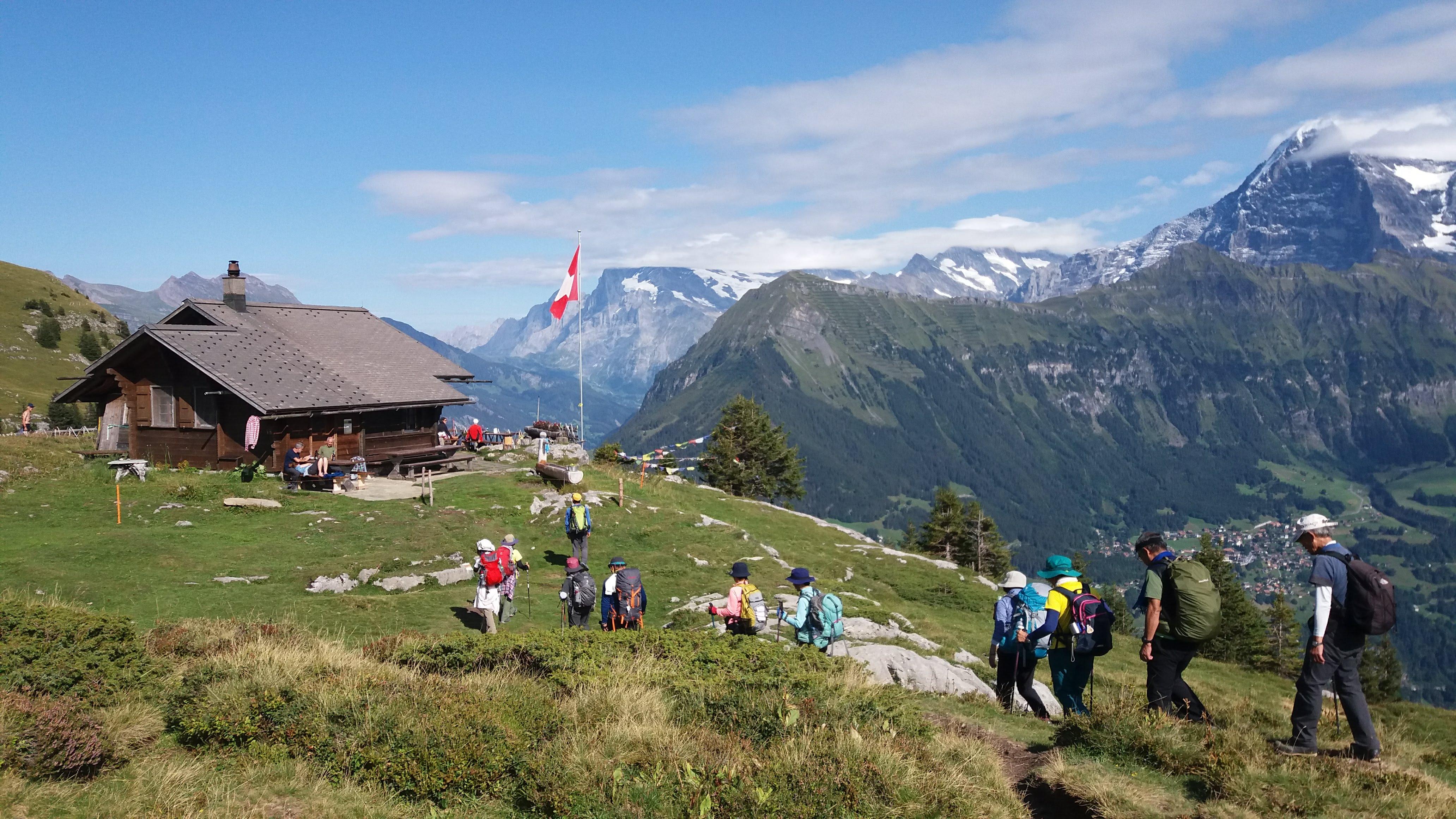 【モンベル×アルパインツアー コラボ特別企画】スイス・アイガー展望ハイキングと山小屋泊 7日間