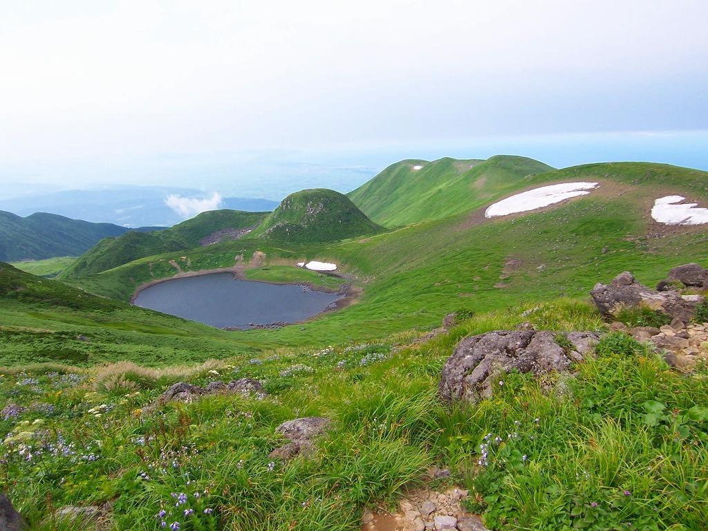 日本の名山『ペースダウンで山歩き』 ゆっくり鳥海山と月山縦走 3日間