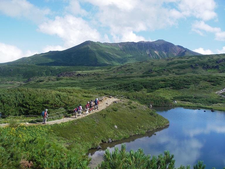 【名古屋港フェリー発着】道央2座(十勝岳、旭岳)登頂 7日間