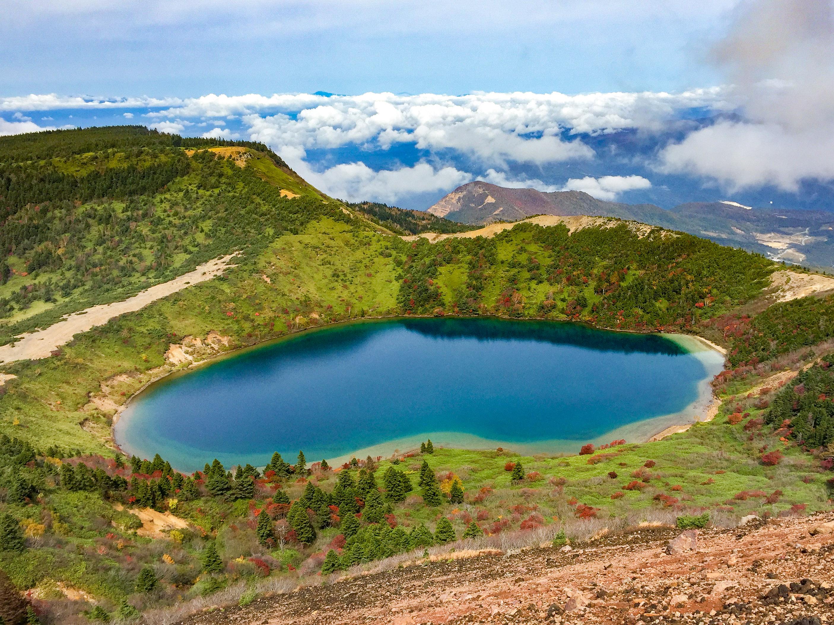 白布温泉と新野地温泉 <br>天元台高原と吾妻連峰ハイキング 3日間
