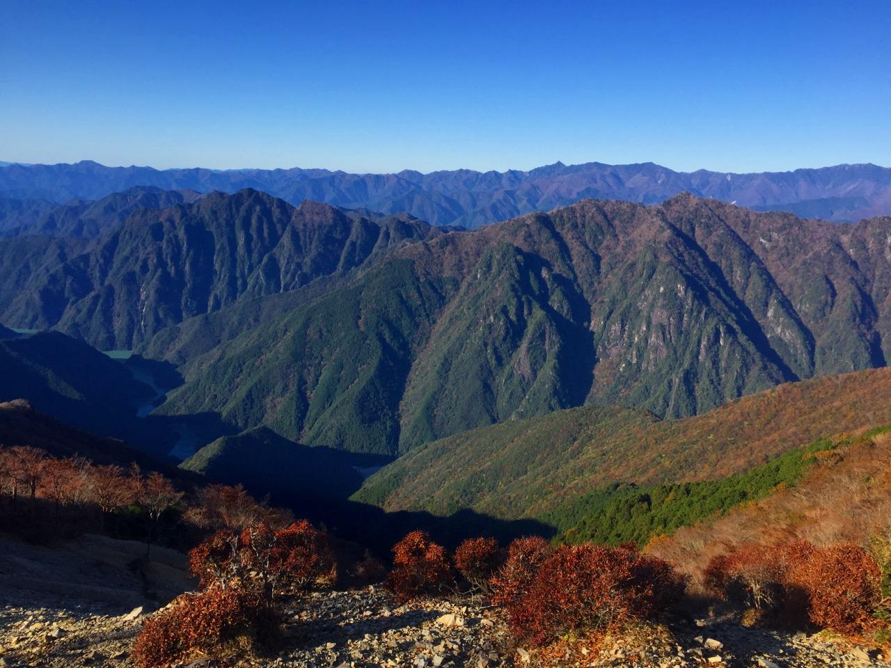 大峰奥駈道 弥山から八経ヶ岳、釈迦ヶ岳、前鬼の裏行場へ 3日間