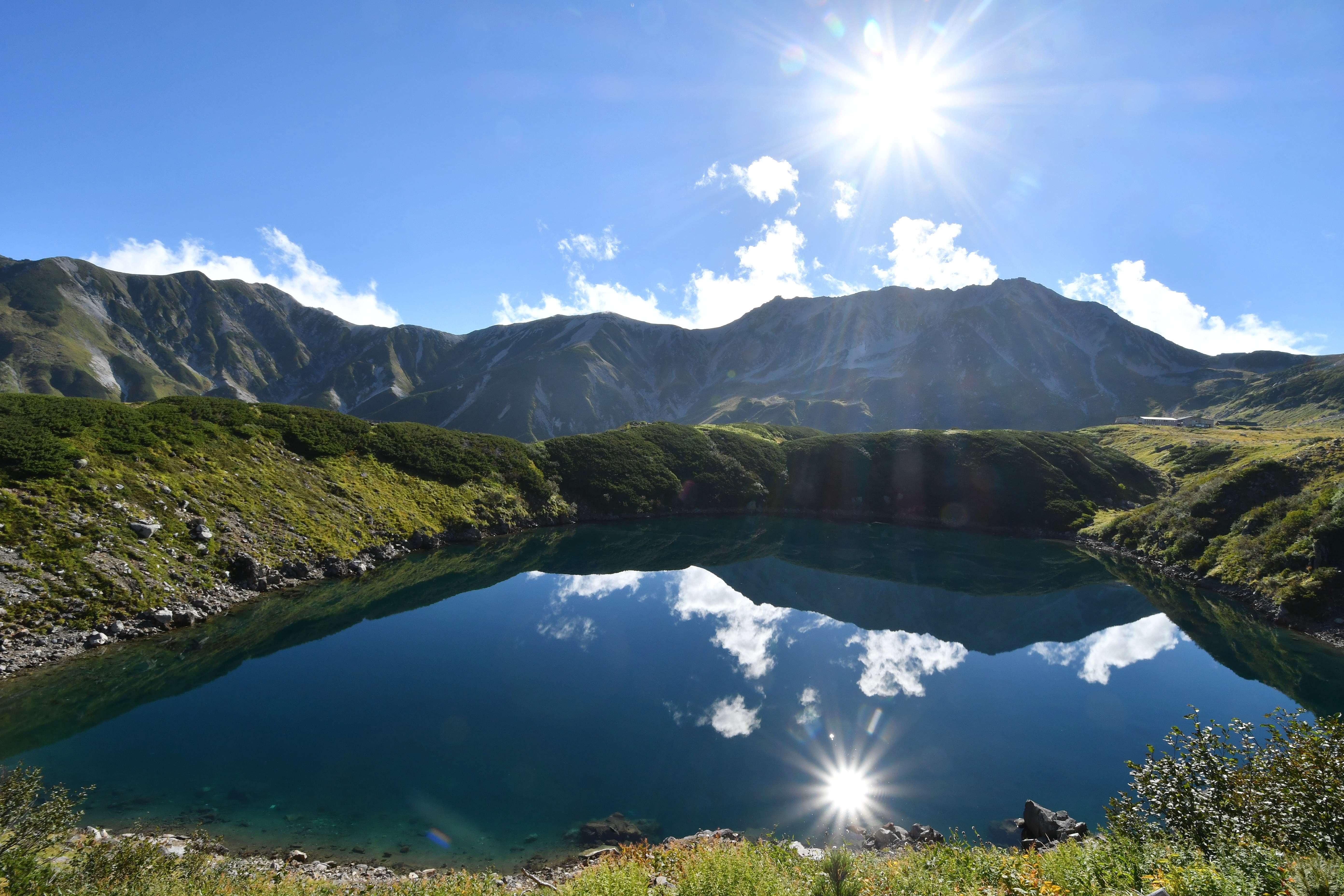 ヤマテン×アルパインツアー・コラボレーション企画<br>標高2,300m 立山・天狗平山荘に2連泊 <BR>立山連峰・空見ハイキング 3日間