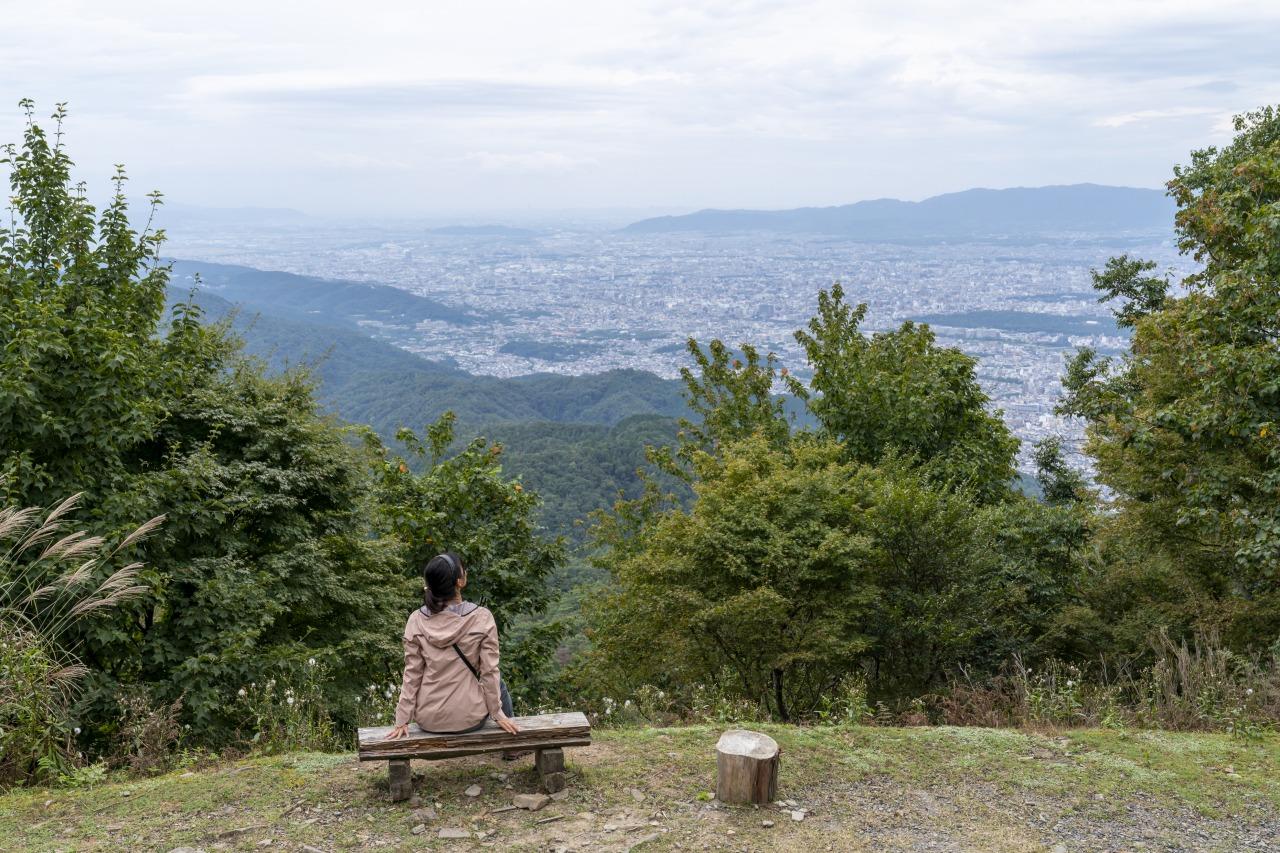 京都一周トレイル・桜咲く東山コースを歩く 3日間