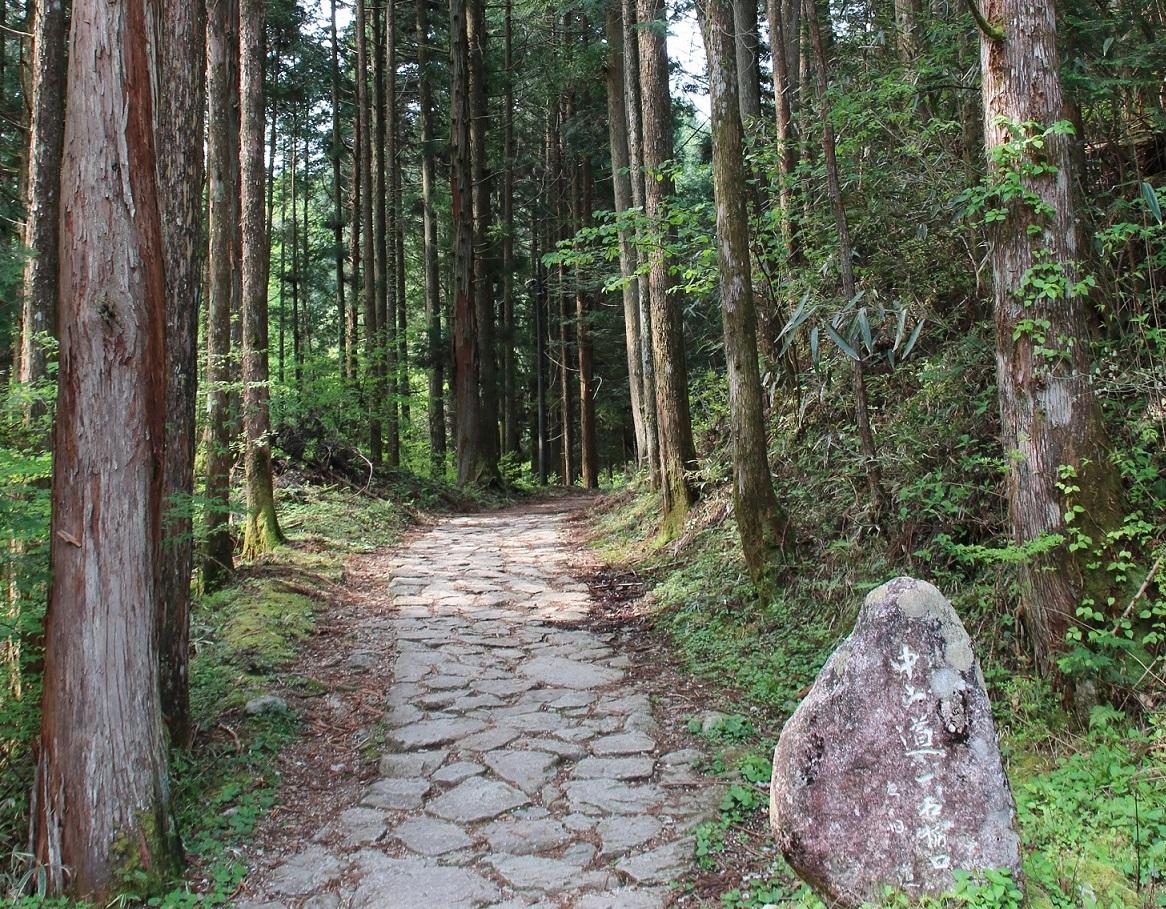 中山道・木曽路と御嶽古道 ハイライト・トレッキング 5日間