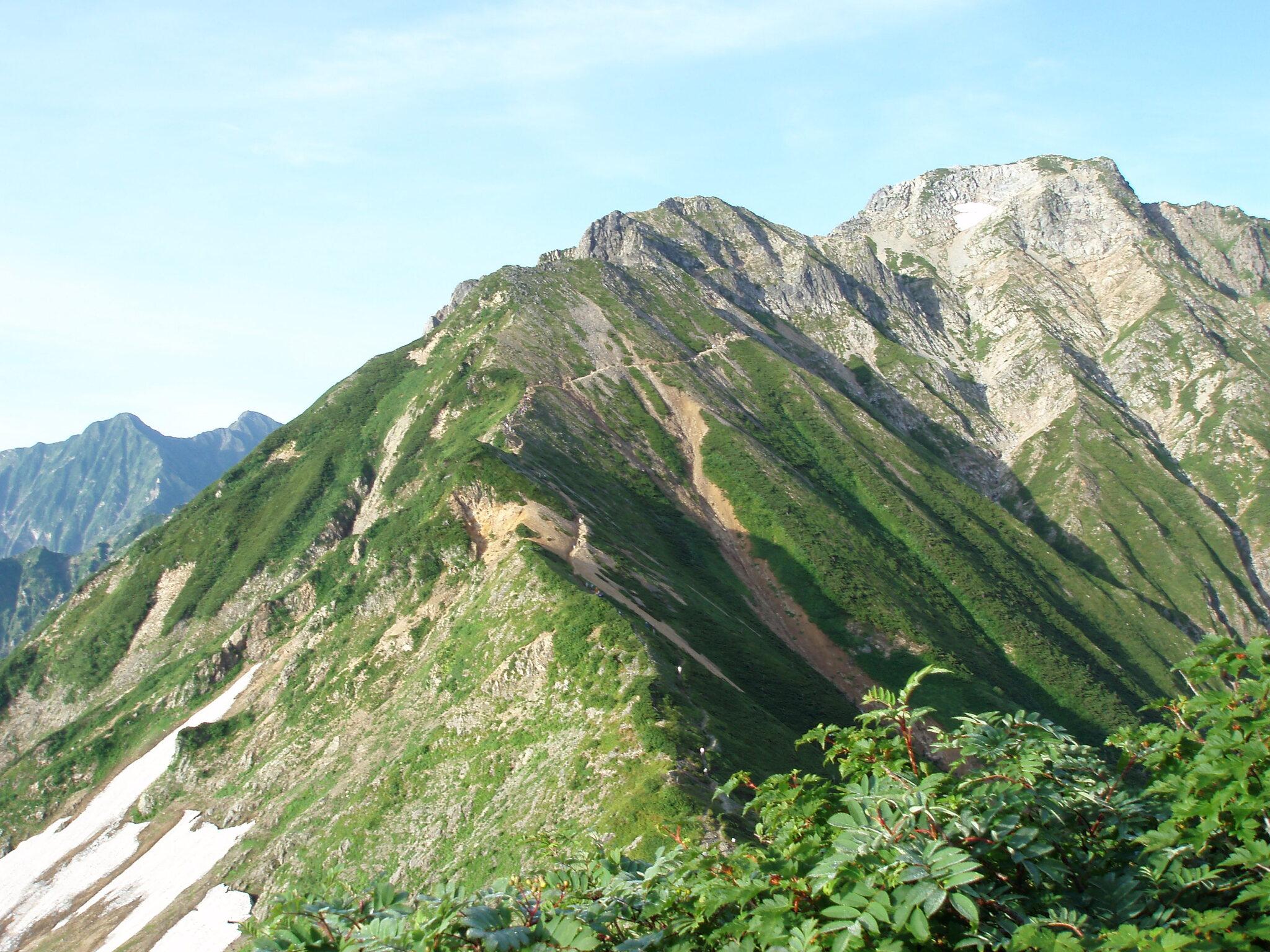 北アルプス屈指の山岳展望と岩稜縦走<br>唐松岳から五竜岳 3日間