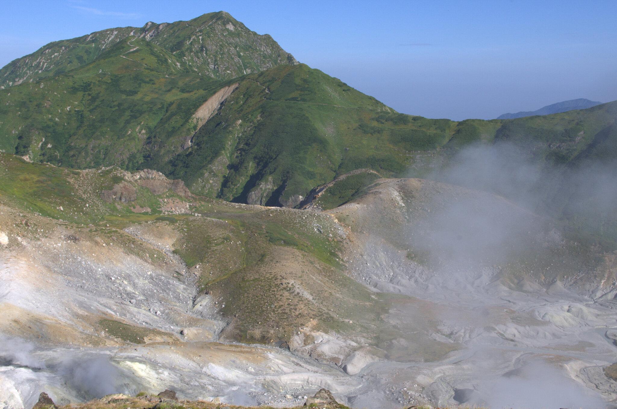 立山スペシャル Dコース<br>立山と大日連山の最高峰に登頂<br>大汝山と奥大日岳 3日間