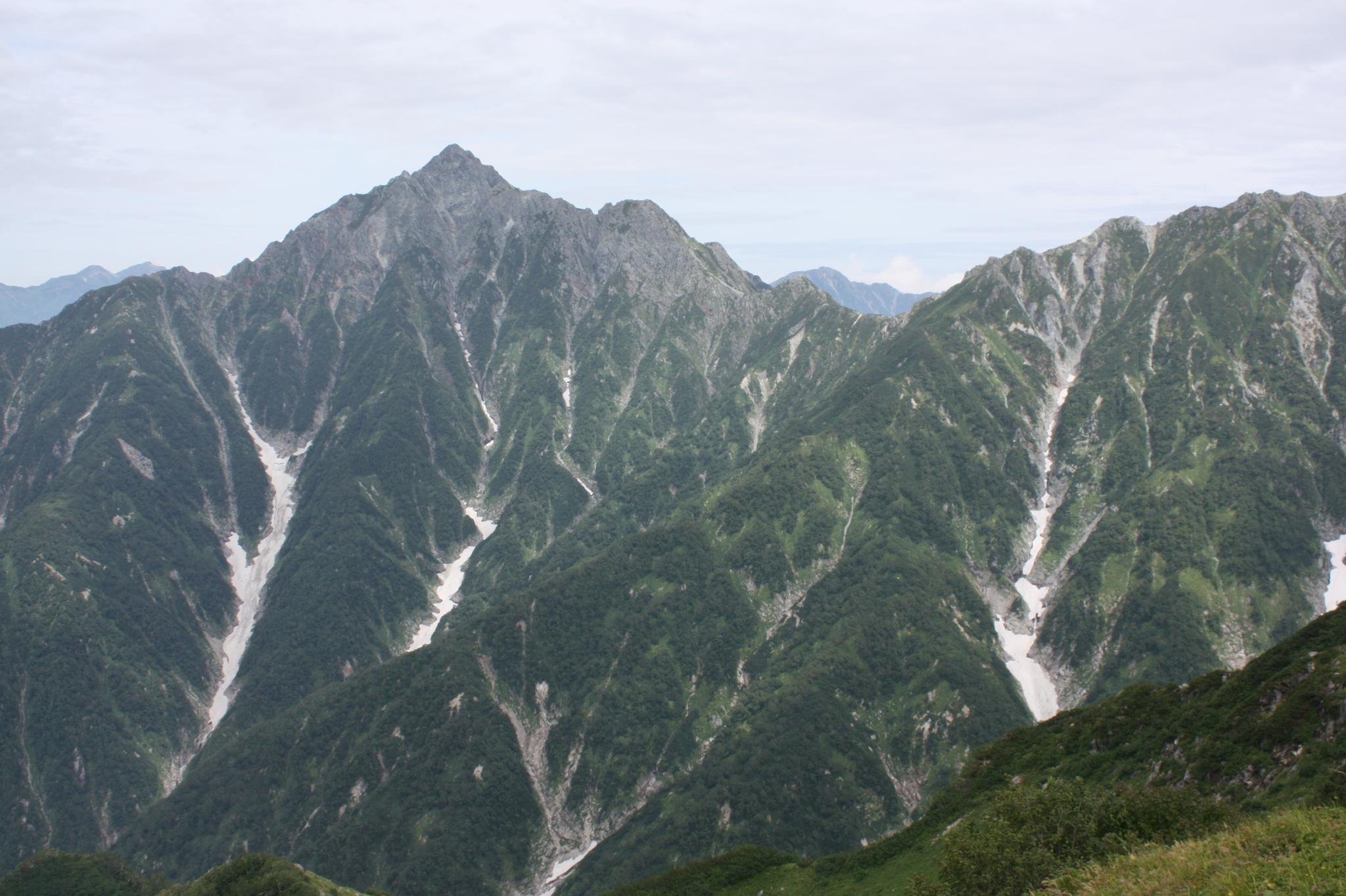 立山スペシャル Eコース<br>荒々しい剱岳西面と立山を眺めるパノラマ縦走<br>大日三山から称名の滝縦走 3日間