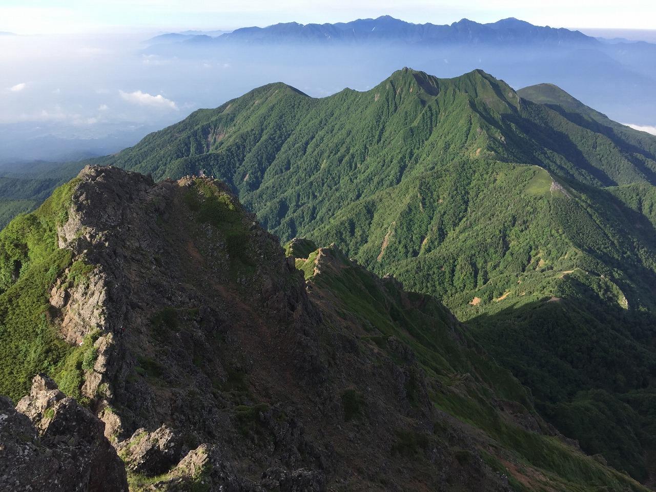【岩稜コース】<br>八ヶ岳・県界尾根から赤岳~キレット~権現岳 2日間