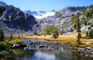 ヨセミテ最高峰Mtライエルとその氷河