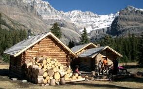カナダ山岳協会が運営するエリザベスパーカー小屋