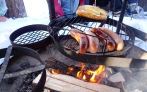 「ラーブ」で焚き火がフィンランド式