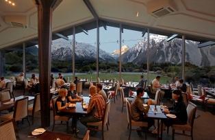 眺望の素晴らしいレストラン