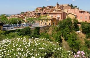 リュベロン地方の美しい村ルシヨン