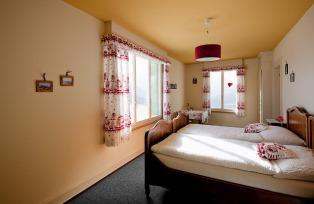 シーニゲ・プラッテのホテル(お部屋の一例)