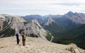 360度の大展望が広がるサルファー・スカイライン・サミット山頂(4日目)