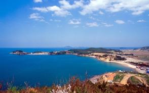 辺山半島の美しい海岸線