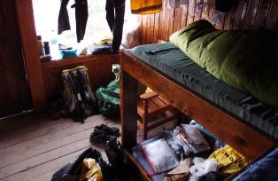 ホロンボハット(3,720m)小屋内の様子
