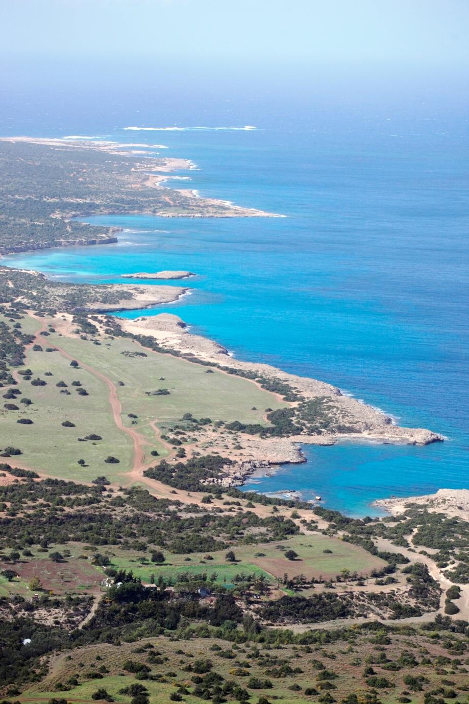 地中海を望むアカマス半島(3日目)