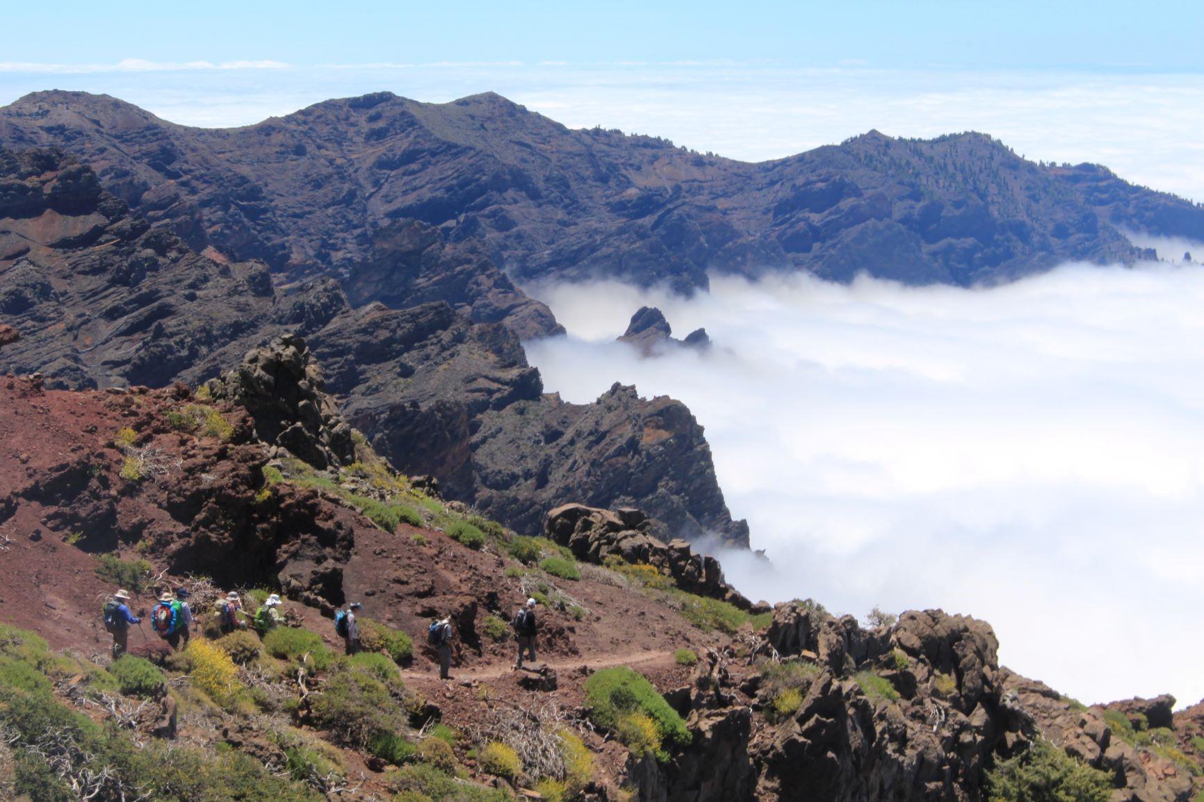 カルデラ・デ・タブリエンテ国立公園ハイキング(6日目)