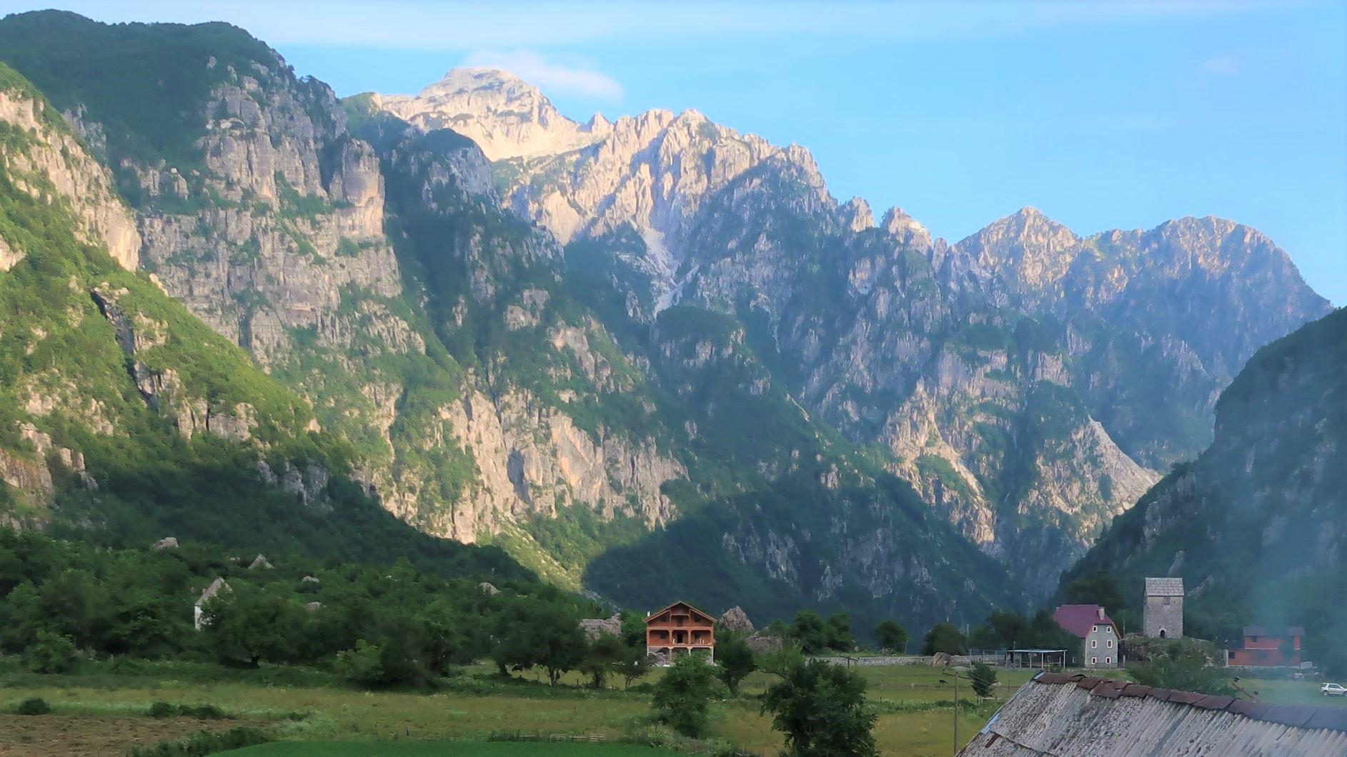 テシ村からのアルバニア・アルプス(6・7日目)
