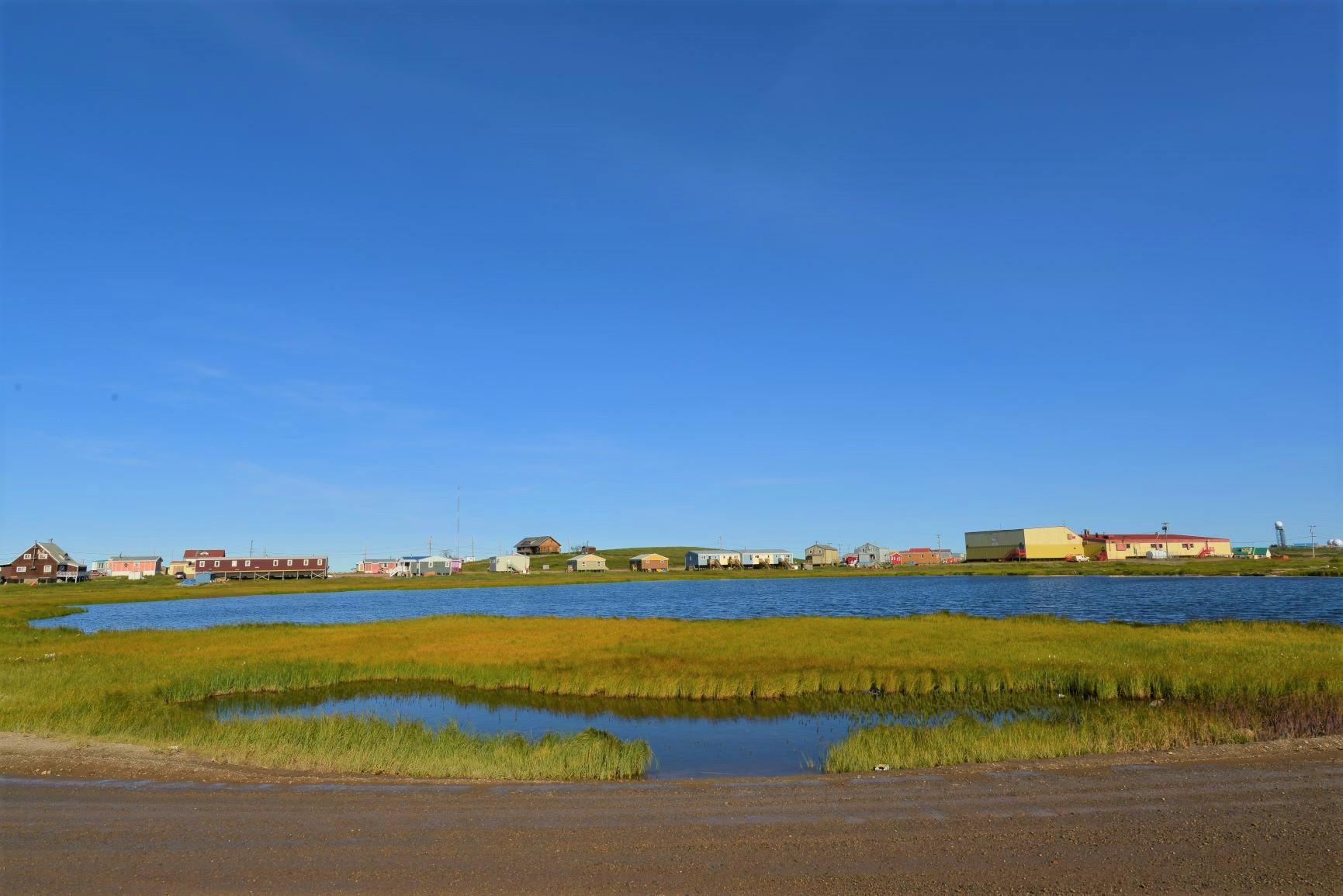 北極海に面する町タクトヤクタック