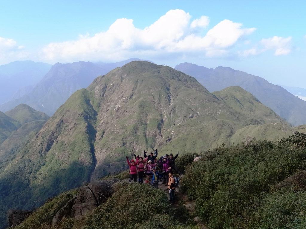 変化に富んだ登山が魅力のファンシーパン(4日目)