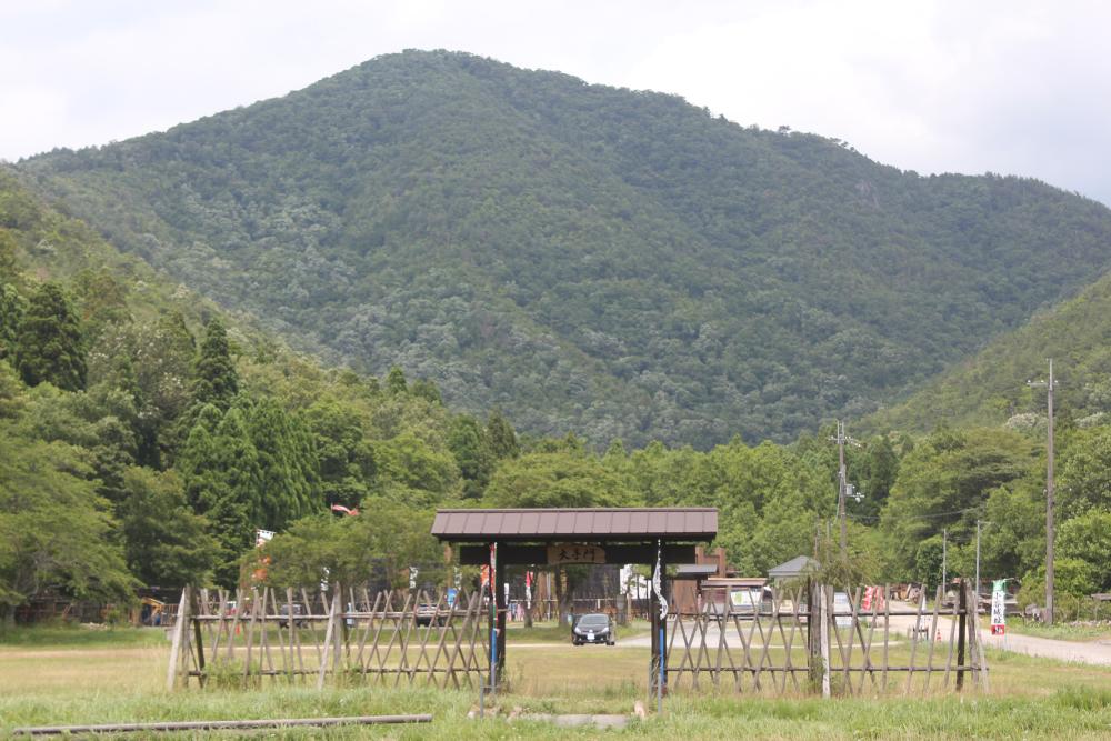 山全体で一つの城を形成していた小谷城址