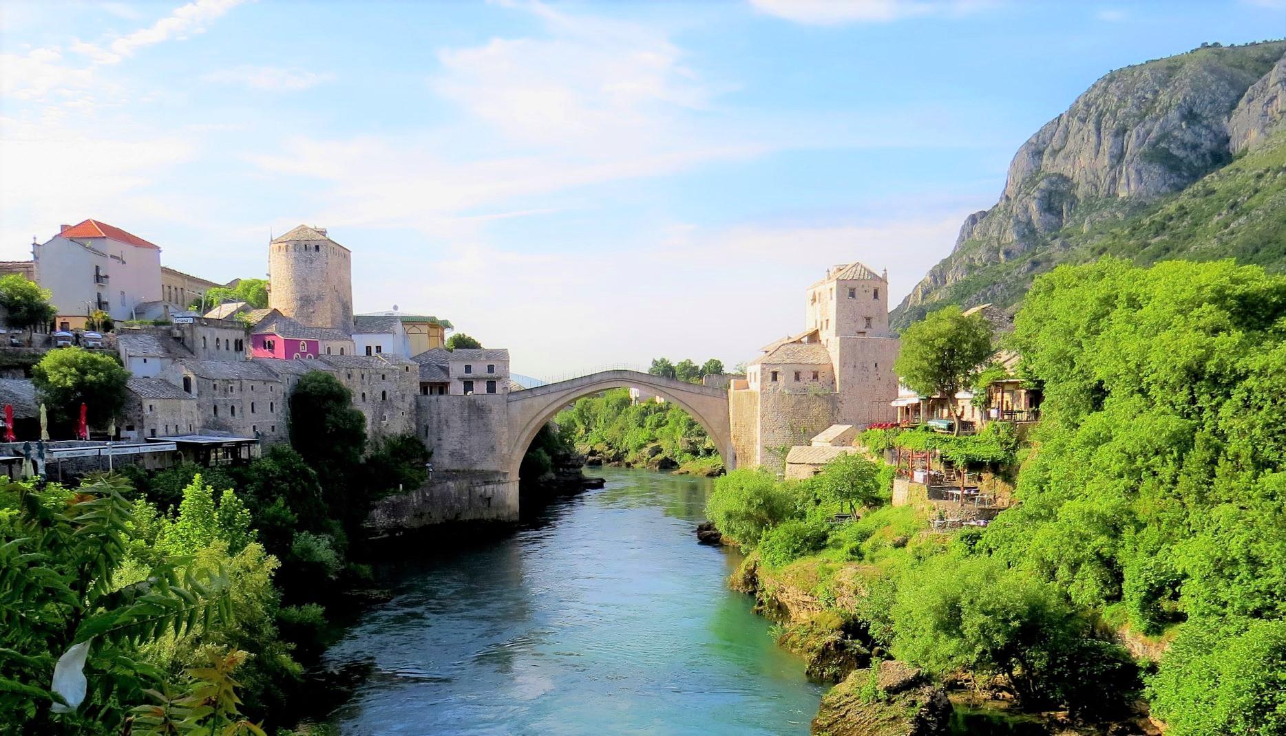 モスタルのスタリ・モスト橋(4日目)