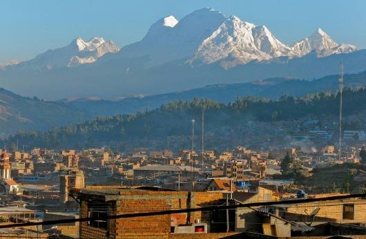 ワラスの町とペルー最高峰ワスカラン