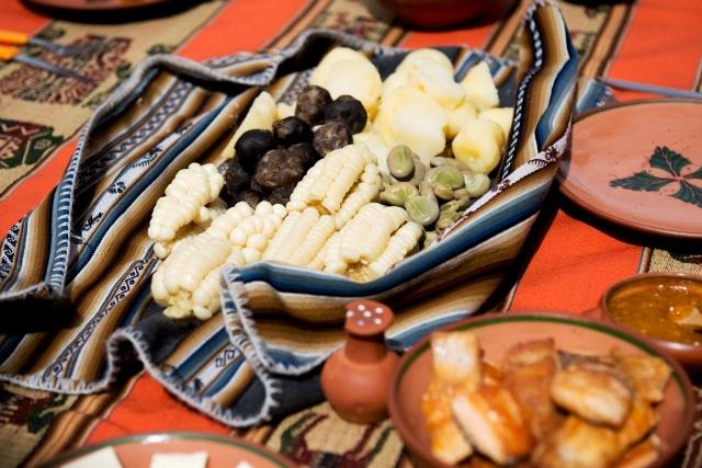 南米原産のトウモロコシ
