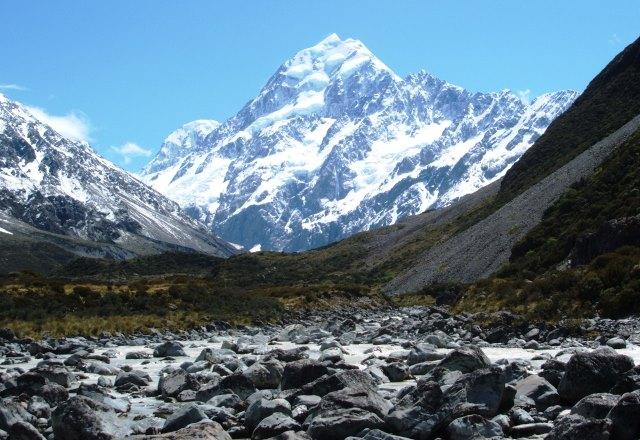 NZ最高峰Mt.クック