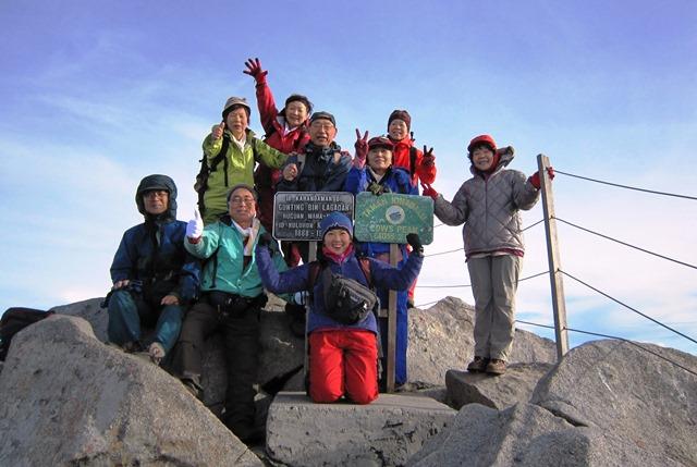 ついに憧れの4,000m峰に登頂!