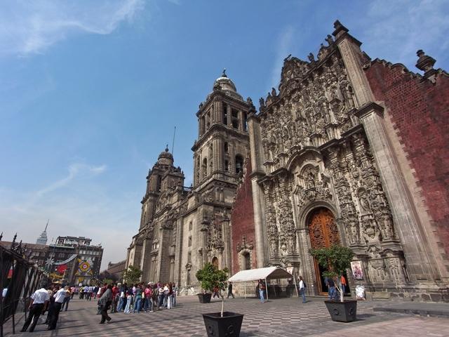 メキシコシティ・ソカロ広場