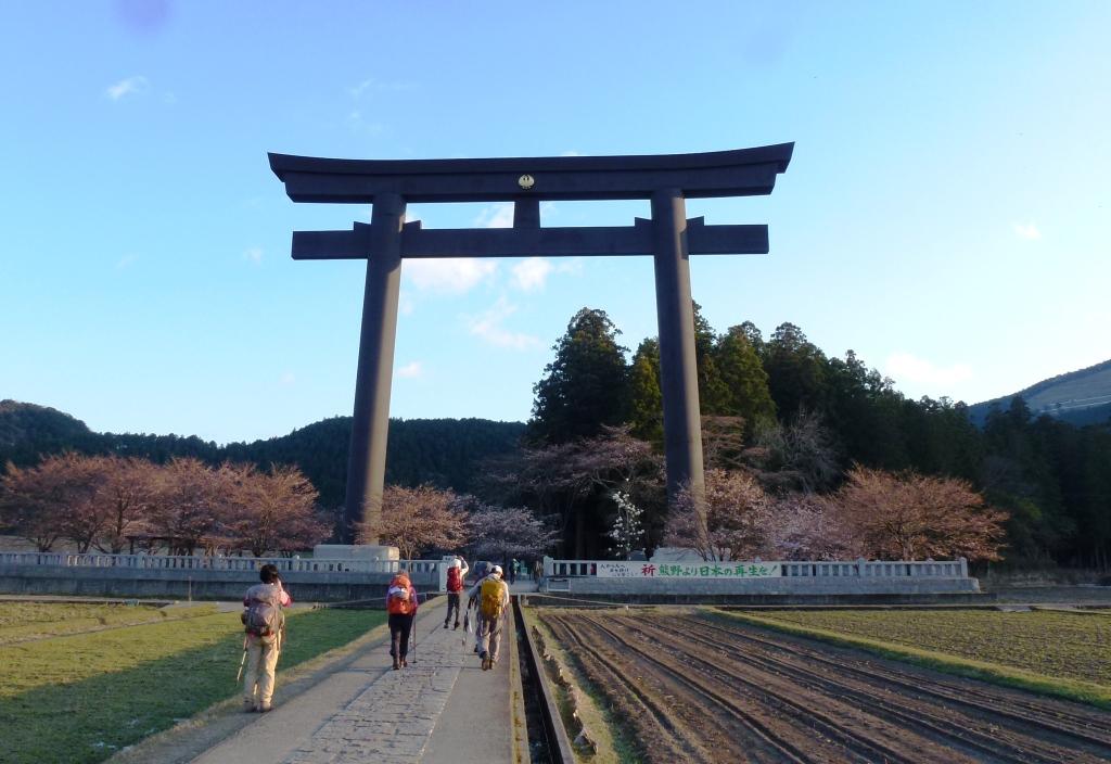 熊野本宮大社の旧社地、大斎原(おおゆのはら)