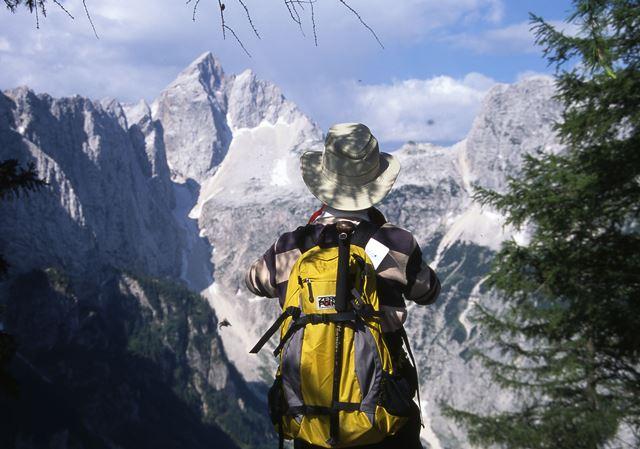スレメより望む名峰ヤロヴェッツ(2,645m)