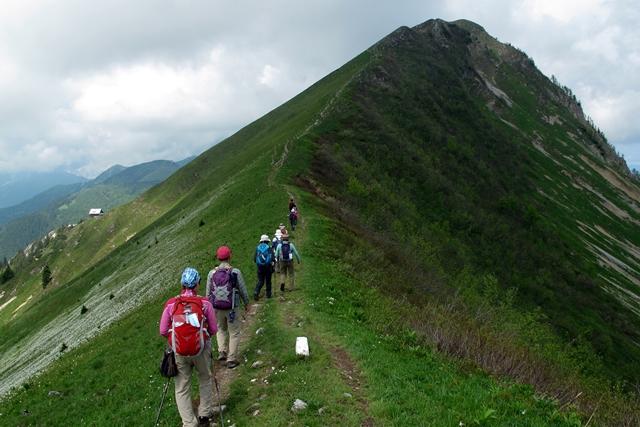 花の山ゴリツァ山(1,835m)