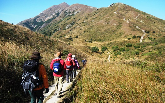 香港第2の高峰・鳳凰山(ランタオピーク)