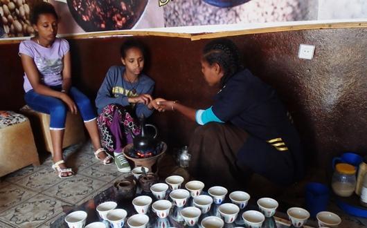 コーヒーはエチオピアが発祥地