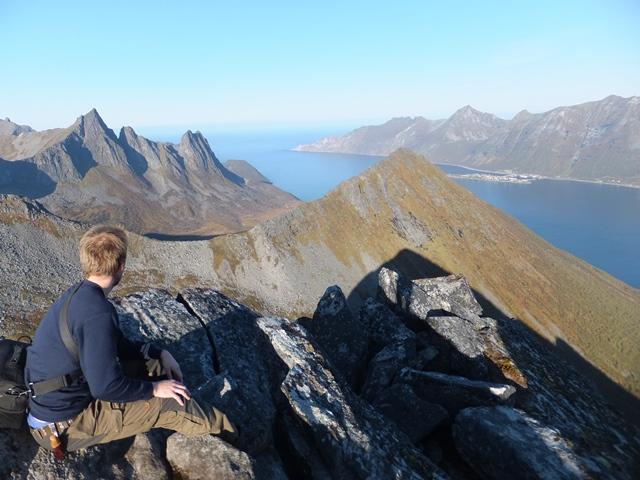 セグラ山頂からの眺望