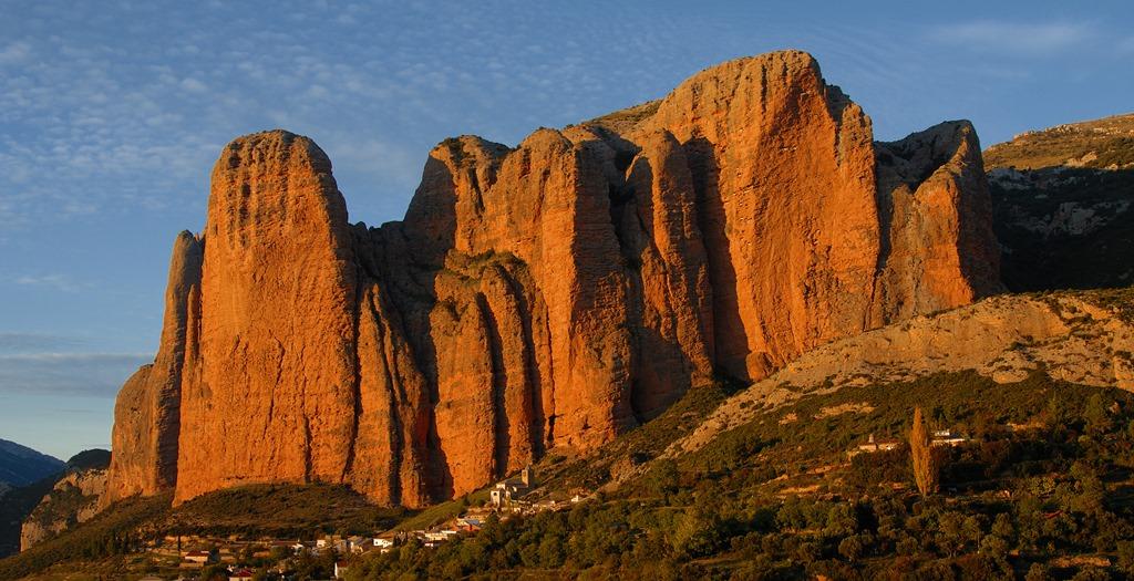 マージョス・リグロスの巨大な岩壁(4日目)