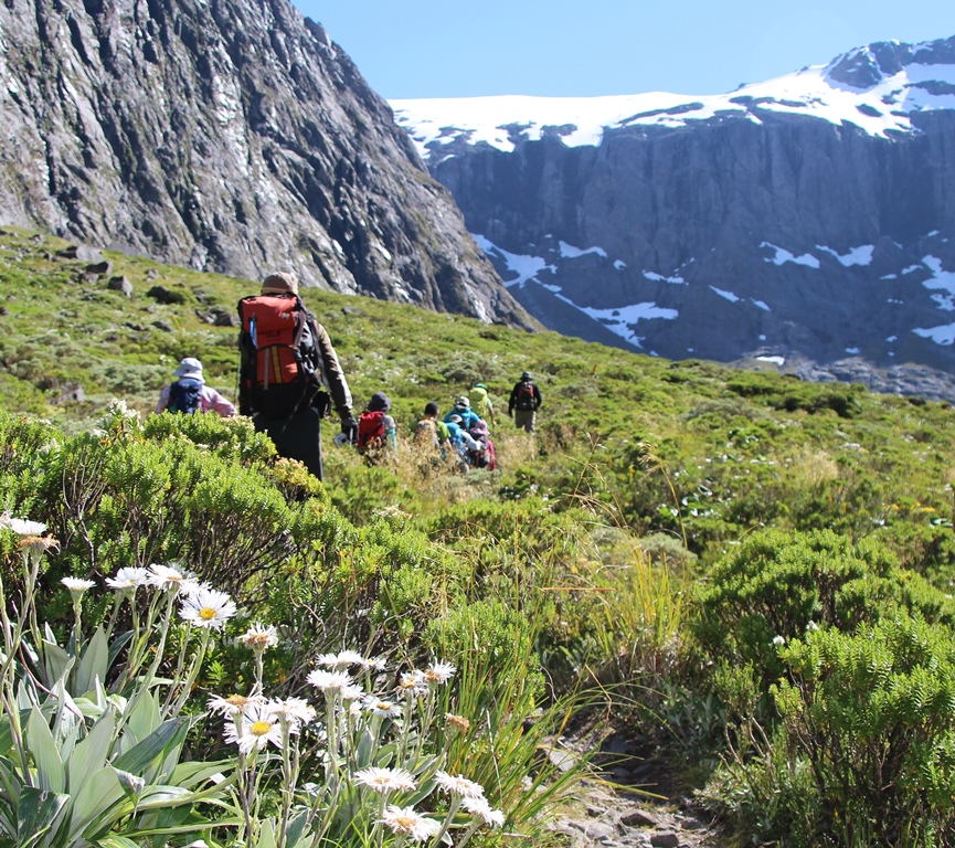 ゲートルード・バレーをハイキング(5日目)