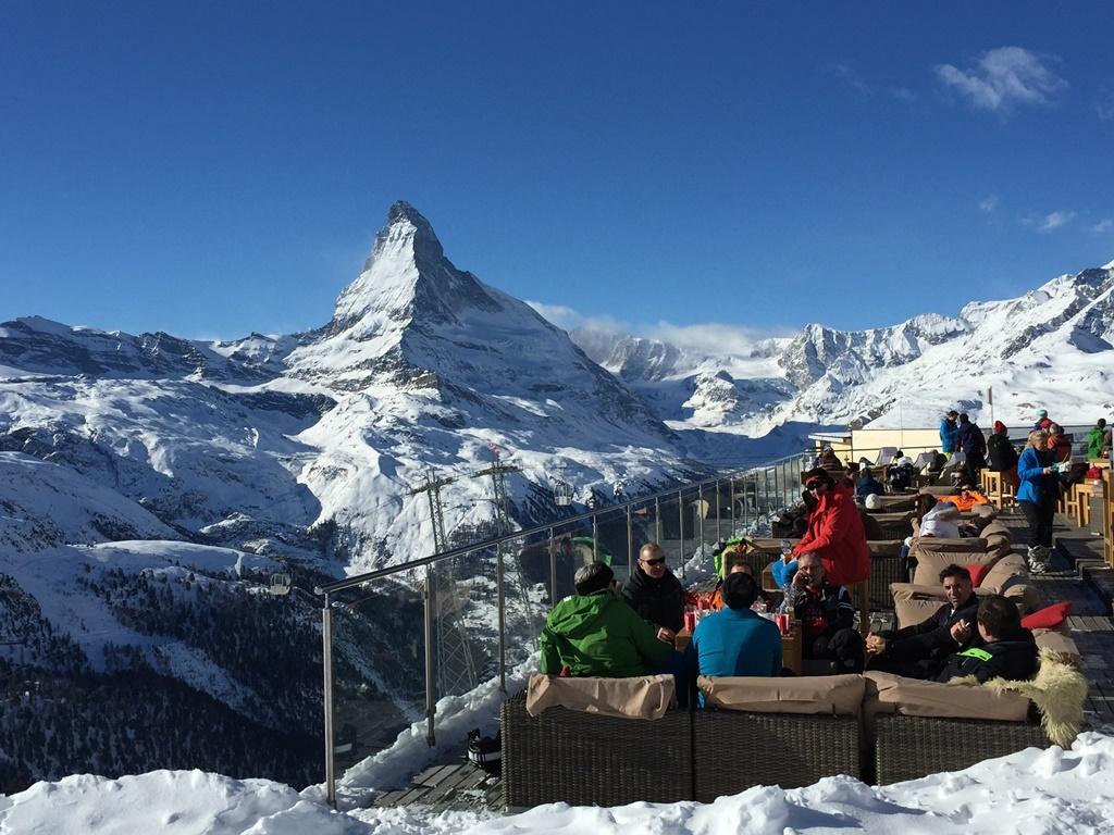 スイスの冬はそれほど寒くない、という声も多い