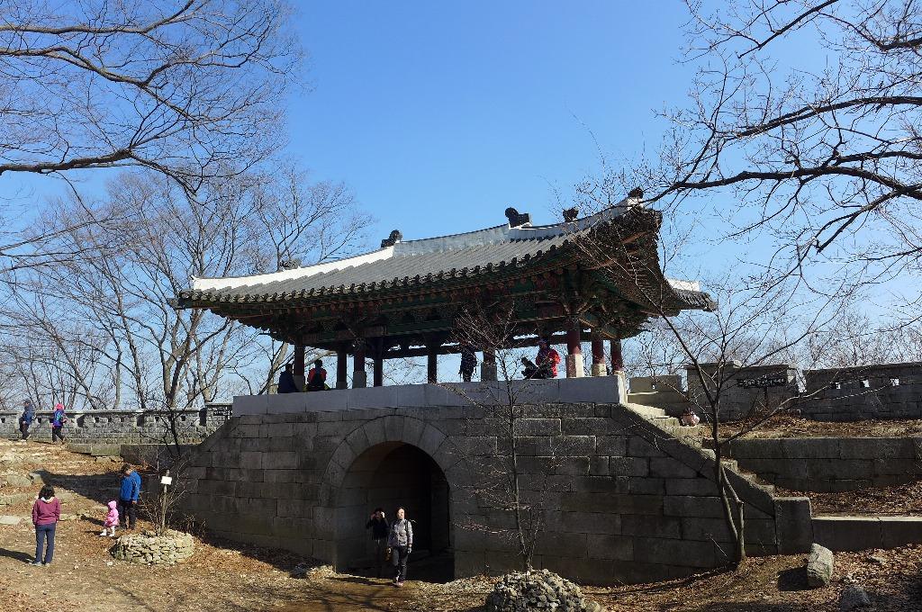 北漢山の十二城門