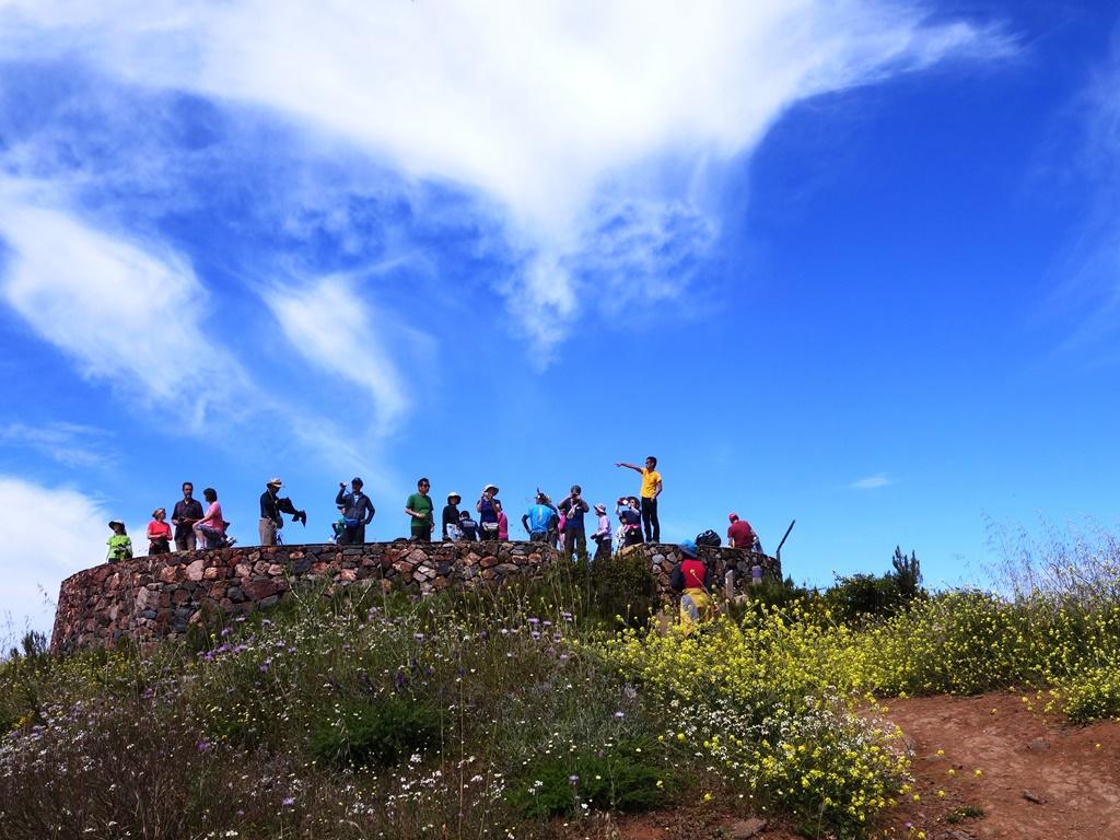 ゴメラ島最高峰ガラホナイ峰