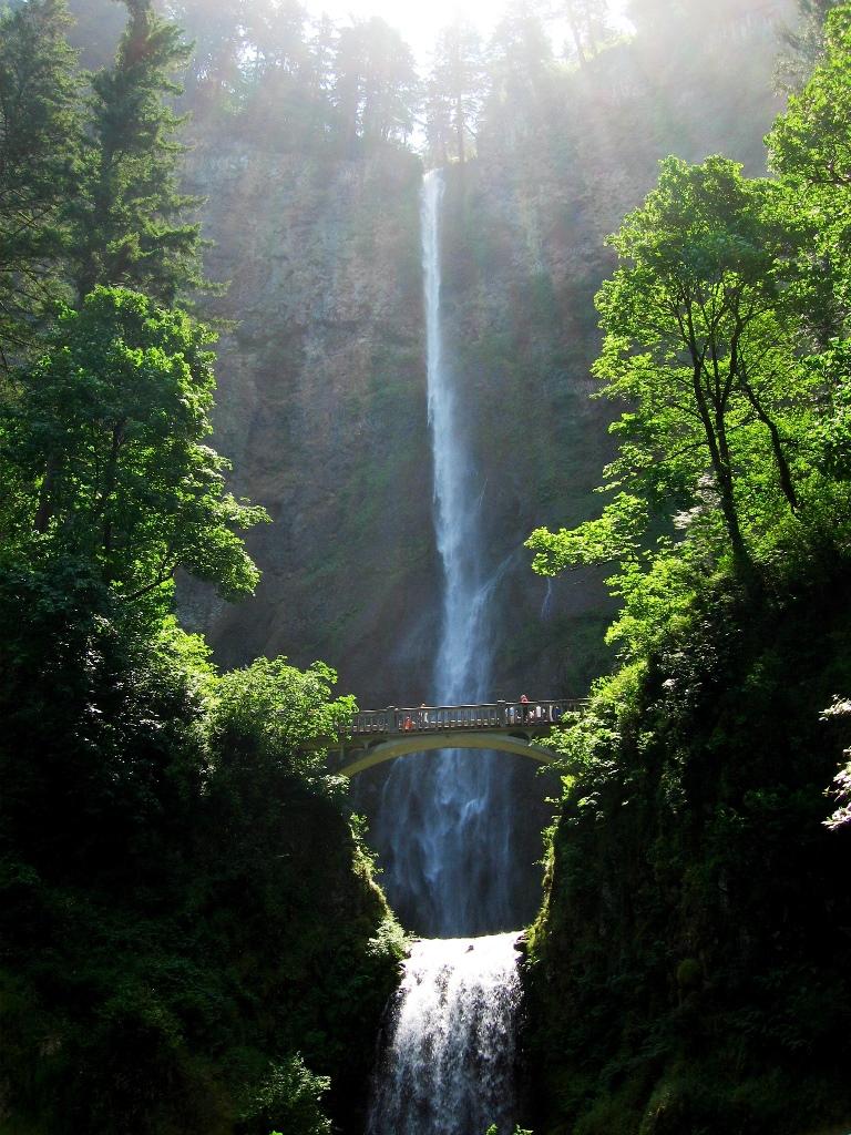 オレゴンを代表するマルトノマ滝