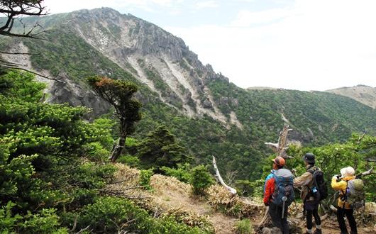 韓国最高峰・漢拏山(ハルラサン)