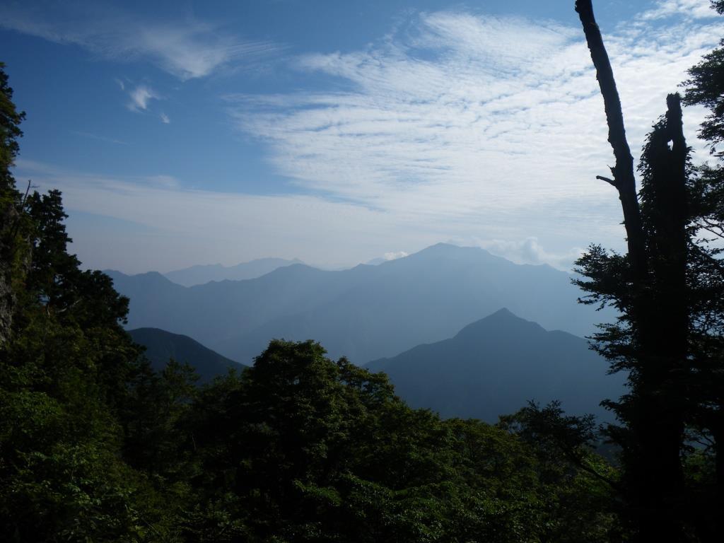 前社森「一軒茶屋」前からの景色
