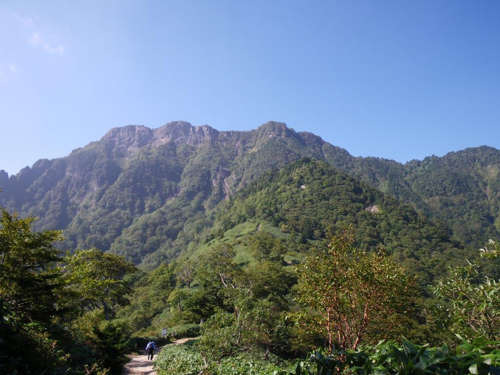 西日本最高峰・石鎚山