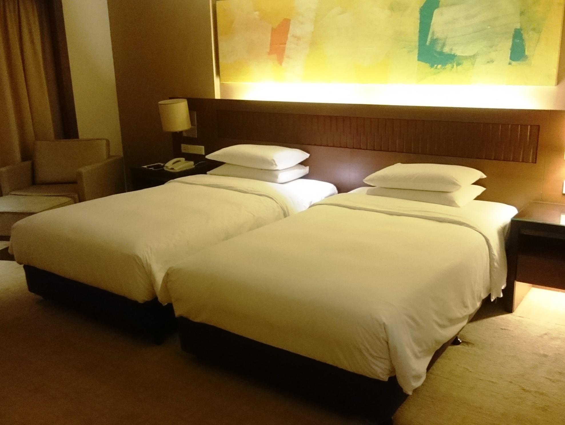 コタキナバル市内は快適なシティホテルに滞在